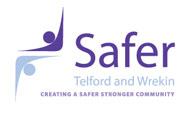 Safer Telford logo
